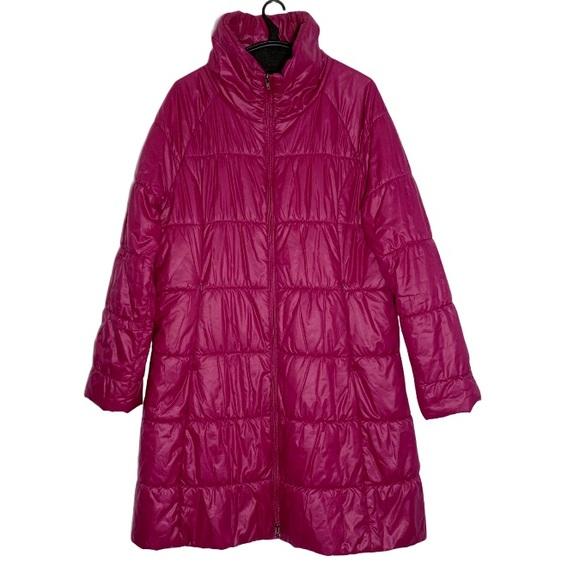 Patagonia Lidia Pink Parka Long Puffer Jacket